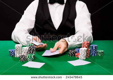 Casino Dealer Stock Images, Royalty-Free Images & Vectors ...