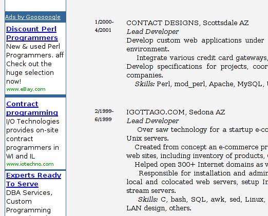 Scott Walters' Portfolio (Computer Programmer/Software Engineer)