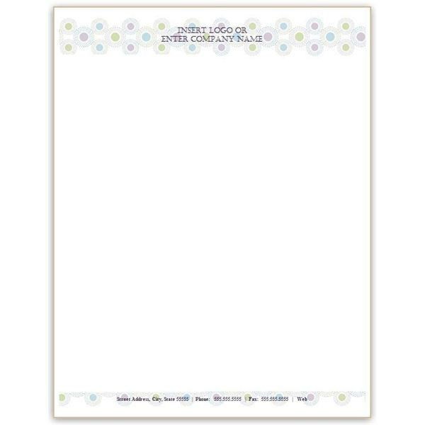 free personal letterhead templates word | Best Template & Design ...