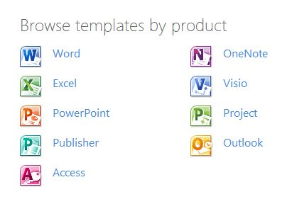 Microsoft Office Free Templates | Your Chicagoland Software Coach