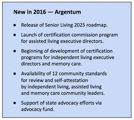 The senior living agenda for 2016