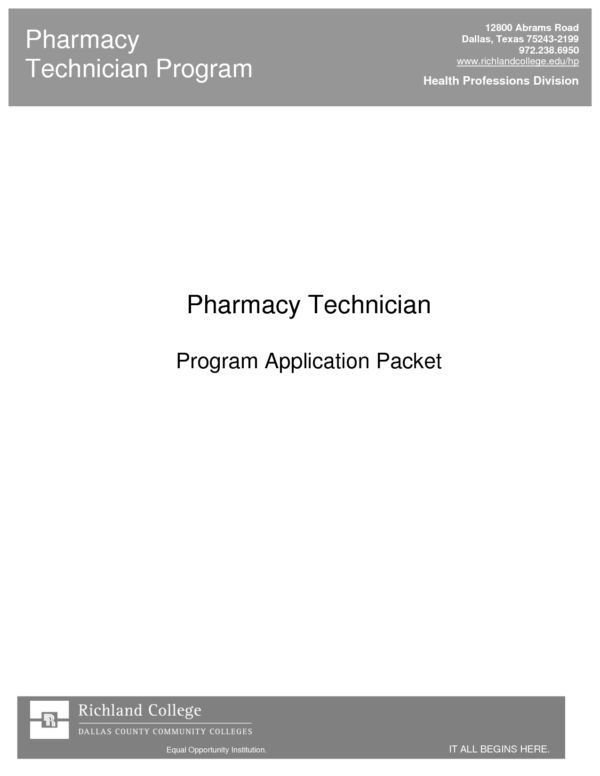 Interesting Pharmacy Technician Cover Letter Sample with Header ...