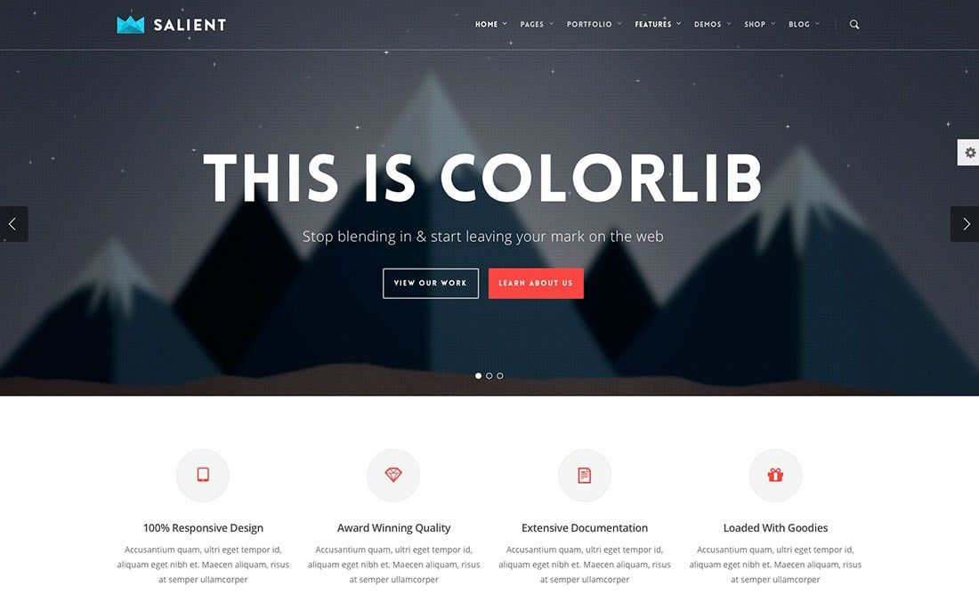 Top 10 Most Popular Premium WordPress Themes of 2017 - Colorlib
