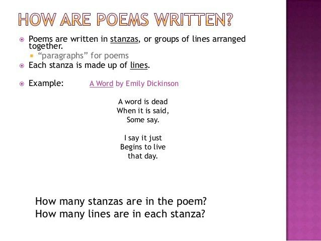 Poetry power point 2013