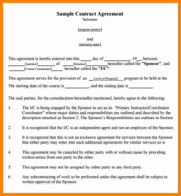 11+ draft of agreement between two parties   job resumed