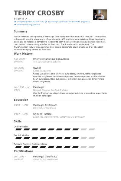 Marketing Advisor Sample Resume Marketing Advisor Sample Resume