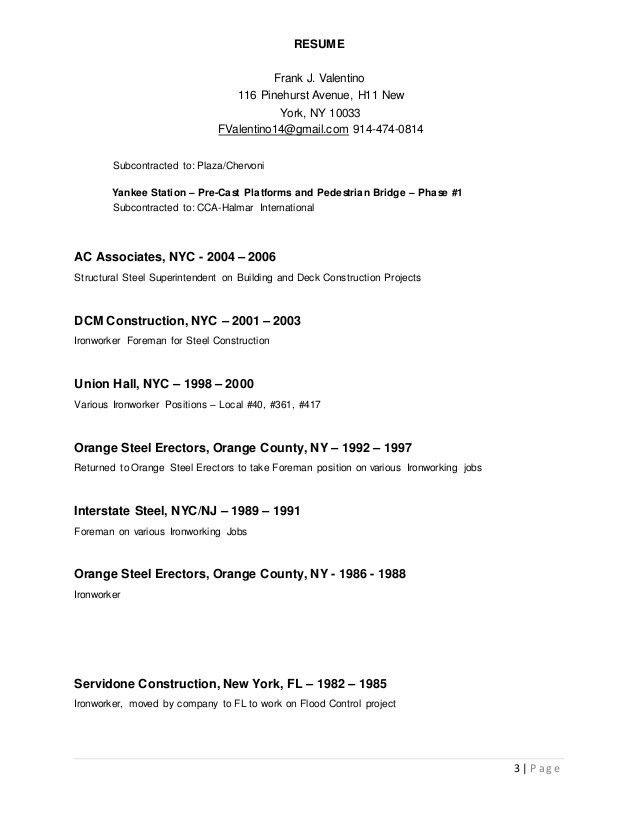ironworker resume professional iron worker templates to showcase