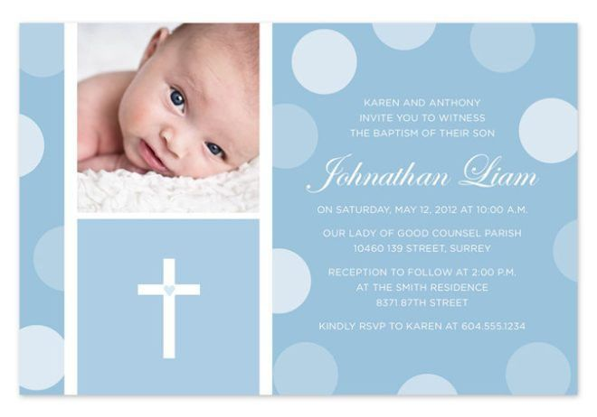 Rosary Beads Themed Baptism Celebration Invitation Template : Momecard