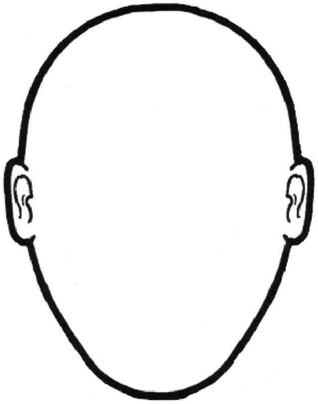 Blank Face Template | Free Download Clip Art | Free Clip Art | on ...