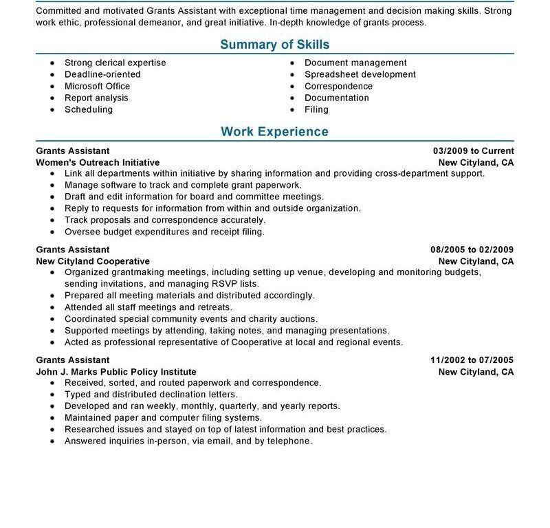 Download Example Of Perfect Resume | haadyaooverbayresort.com
