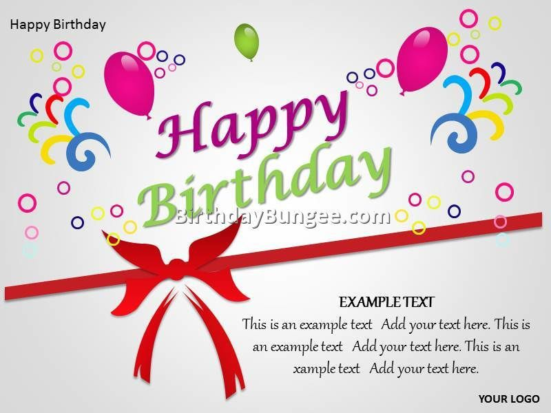 free birthday card templates 5 | Best Birthday Resource Gallery