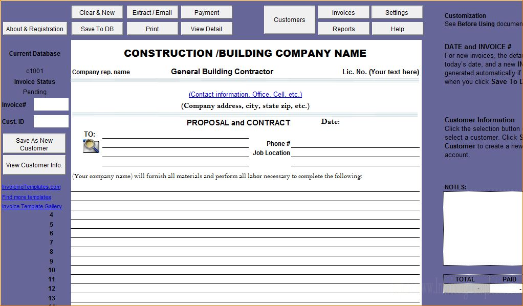 7+ Construction Proposal Template | Timeline Template