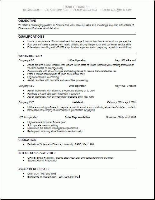 Finance Degree Template   Free Business Template