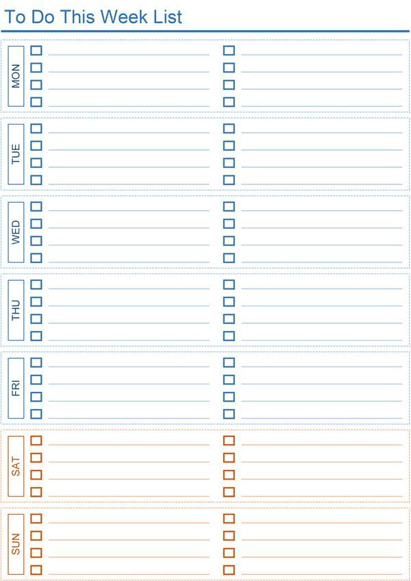 To Do List Xls   free to do list