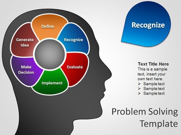 free brain powerpoint template with diagram free download | Stuff ...