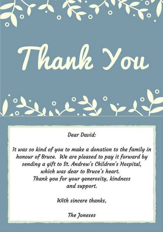 Best 25+ Funeral thank you notes ideas on Pinterest   Funeral ...