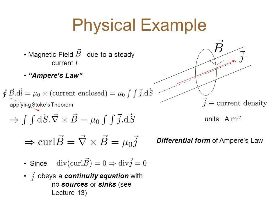 Lecture 11: Stokes Theorem Consider a surface S, embedded in a ...