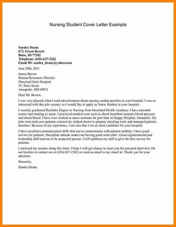 11+ cover letters examples for students - mail clerked