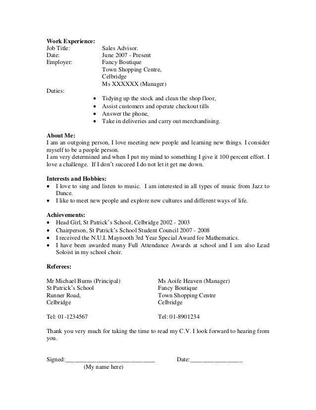 Curriculum Vitae Sample. A Mechanical Engineer Resume Template ...