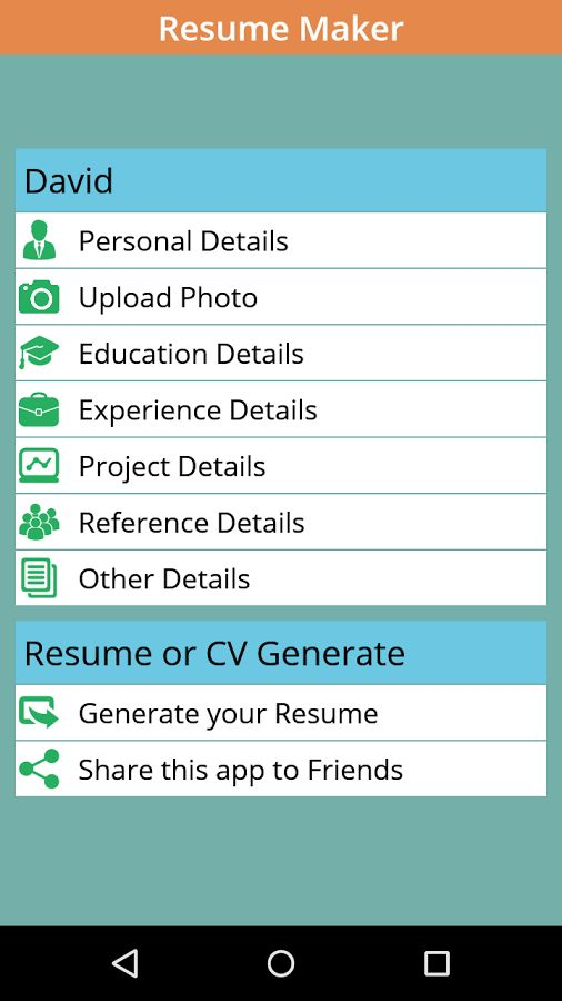 Instant Resume / CV Maker Free - Android Apps on Google Play