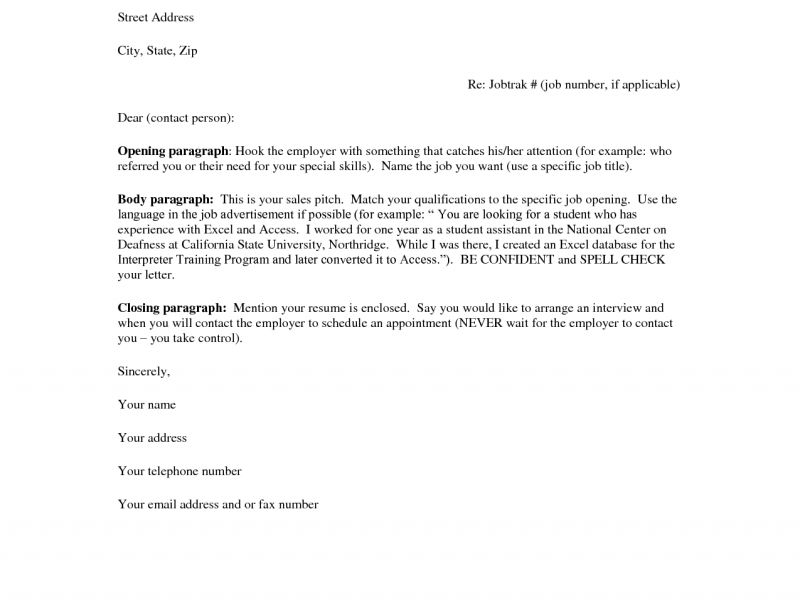 Amazing Idea Cover Letter Example For Resume 16 Fashionable Design ...