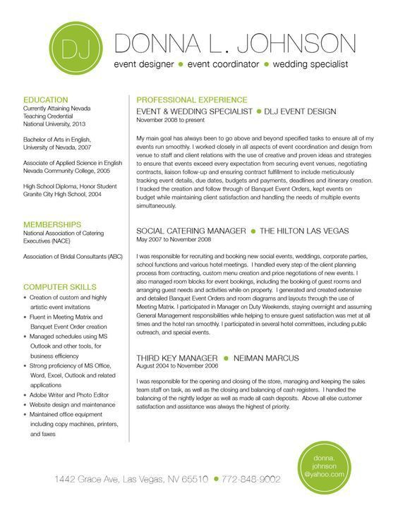23 best Resumes images on Pinterest | Resume ideas, Resume help ...