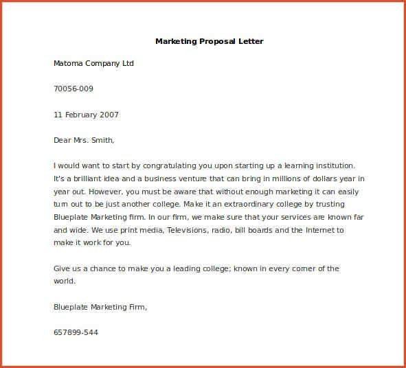ESTATE DISTRIBUTION LETTER TEMPLATE.Sample Marketing Proposal ...