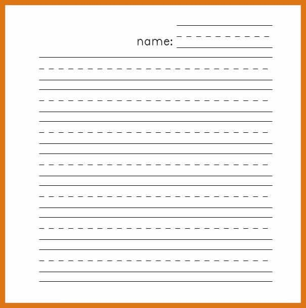 lined paper template | letter format business