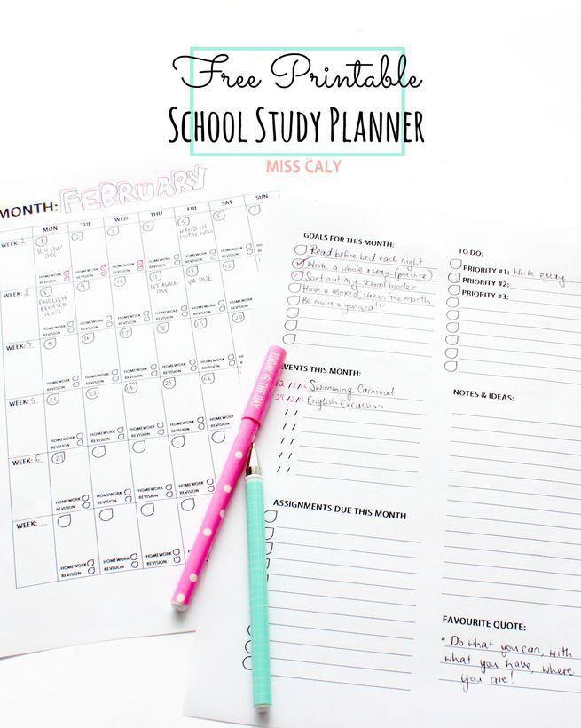 Best 25+ Study planner ideas on Pinterest | College agenda, Study ...