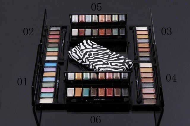 mac overstock makeup, MAC 8 Color Eyeshadow & Brush 8, mac makeup ...