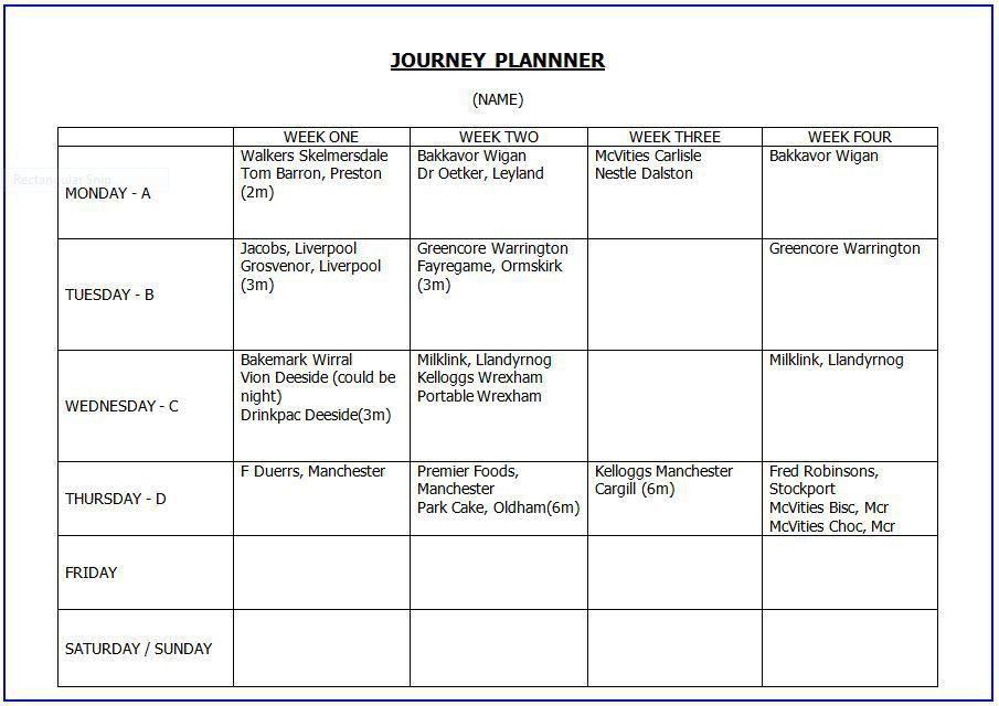 Planning - MichaelAHolden.com