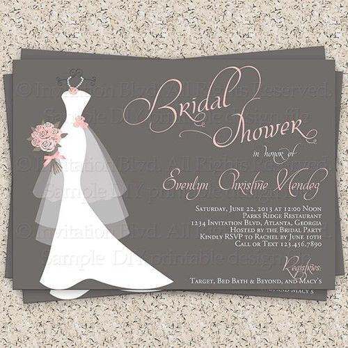 Bridal Shower Invitation Templates - marialonghi.Com