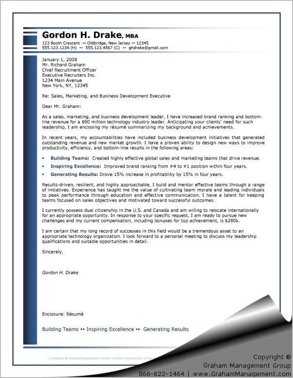 Recruiter Letter - Sharon Graham