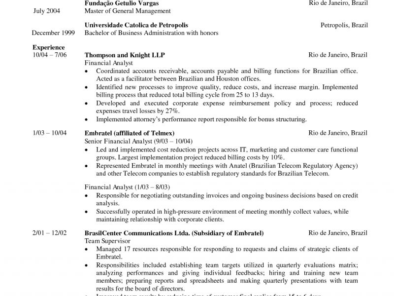 Mccombs Mba Resume Template - Contegri.com
