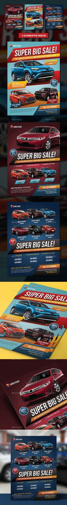 Car Sale Show Flyer | Flyer template, Cars and Brochures