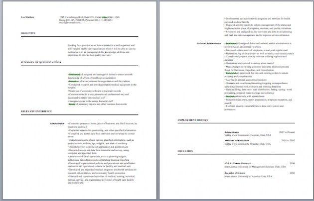 sample phlebotomist resume