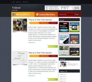 Free Html Blog Templates | Template Idea