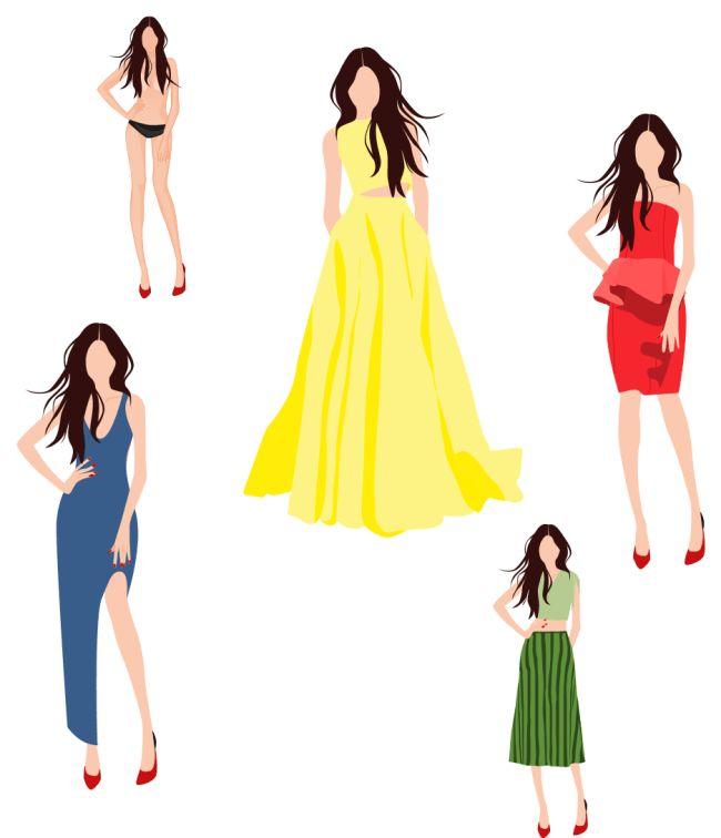 Women Dress Design | Free Women Dress Design Templates