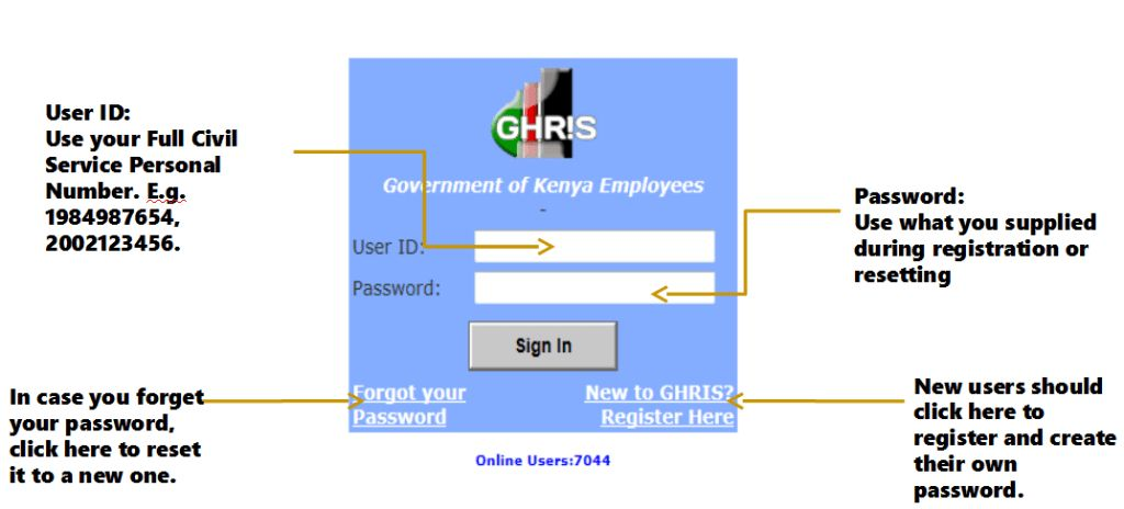 GHRIS REGISTRATION AND PAYSLIP DOWNLOAD ONLINE - Trending news