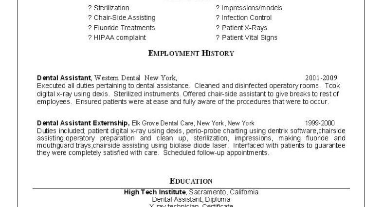 resume orthodontist examples template orthodontic throughout 19 ...
