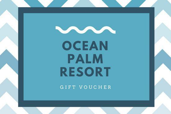 Blue and White Hotel Gift Certificate - Templates by Canva