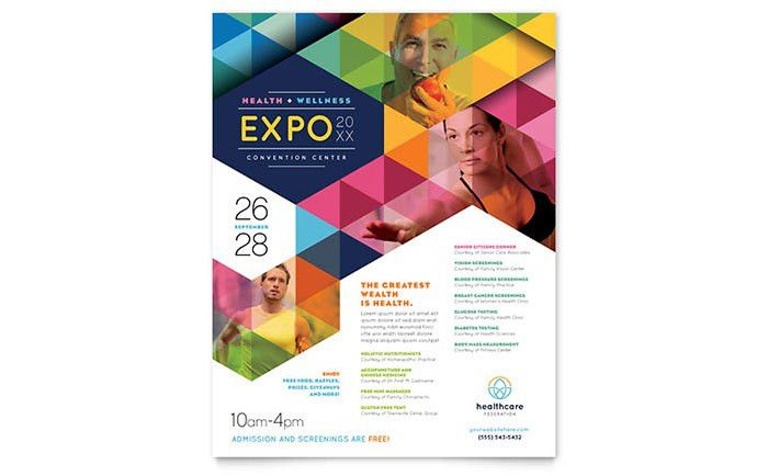 Health Fair Flyer Template - Word & Publisher