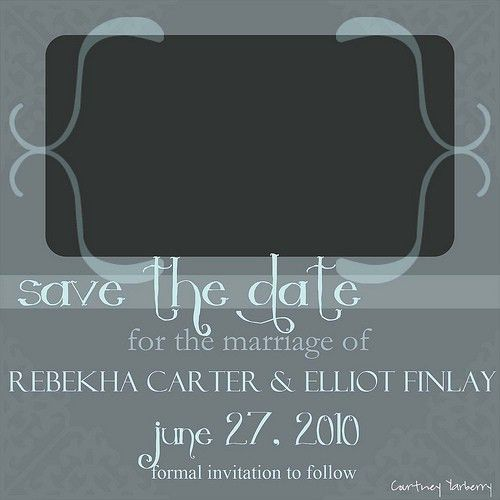 Save The Date Templates | cyberuse