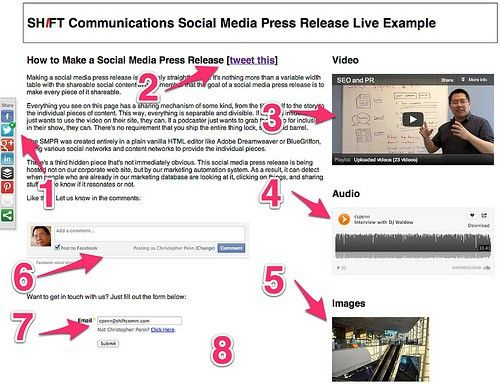 Social Media Press Release 2.0 - SHIFT Communications PR Agency ...