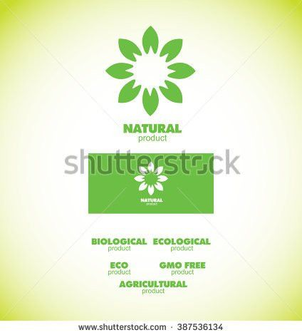 Vector Company Logo Element Template Green Stock Vector 285654101 ...