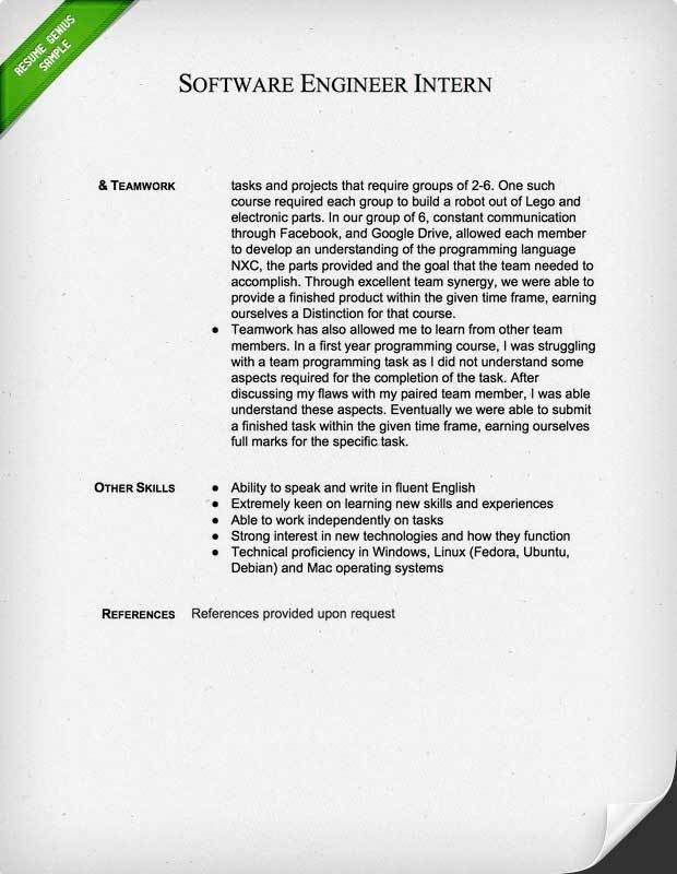 cover letter engineering internship sample cover letter ...