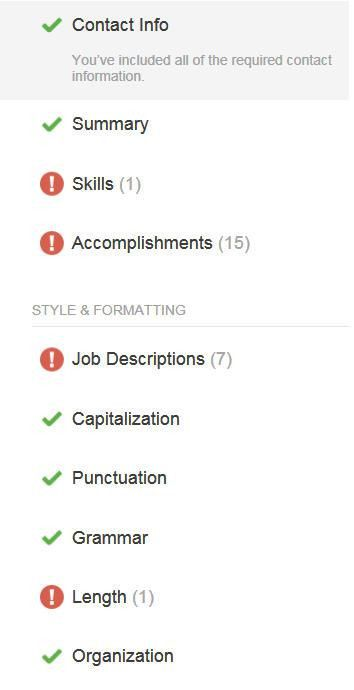 The Ladders New Automated Résumé Review Tool: A Brief Review |