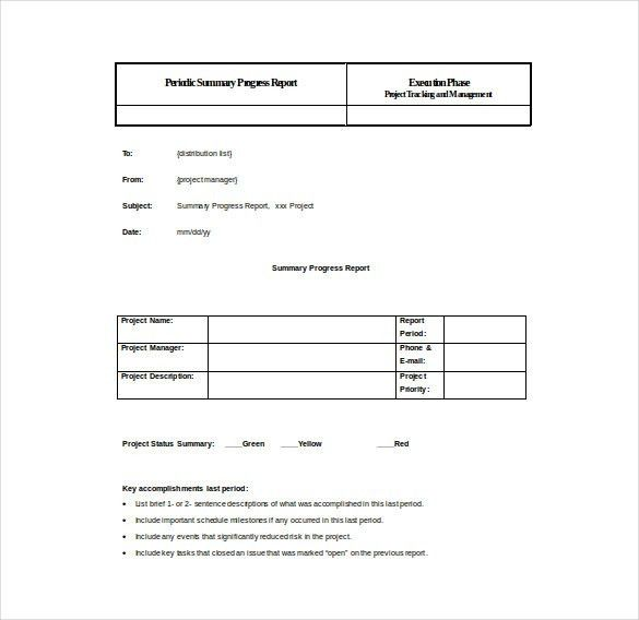 Summary Report Template - 10+ Free Word, PDF Documents Download ...