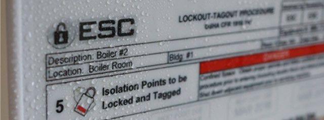 Lockout-Tagout Procedure Template - ESC Services