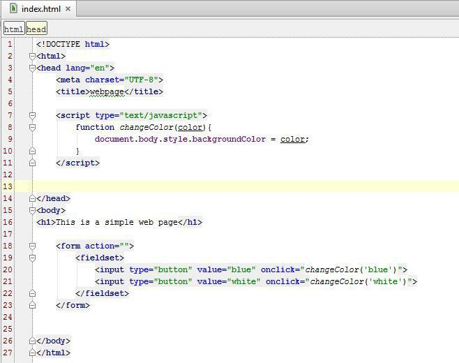 Javascript: Manipulating the DOM using Javascript – Button Events ...